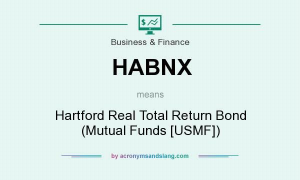 What does HABNX mean? It stands for Hartford Real Total Return Bond (Mutual Funds [USMF])