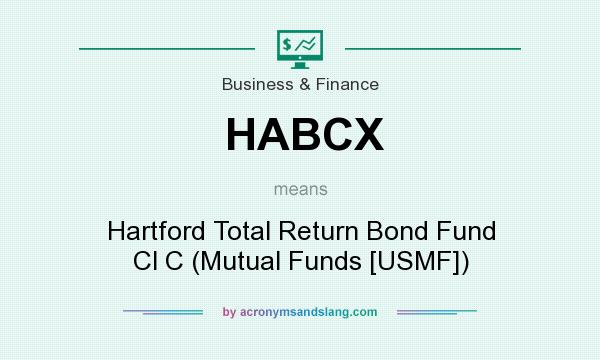 What does HABCX mean? It stands for Hartford Total Return Bond Fund Cl C (Mutual Funds [USMF])