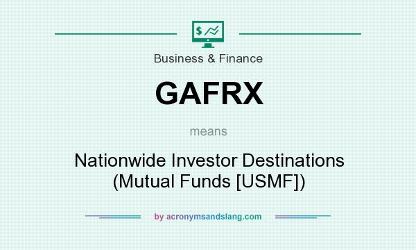 What does GAFRX mean? It stands for Nationwide Investor Destinations (Mutual Funds [USMF])
