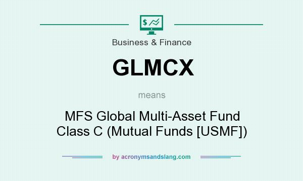 What does GLMCX mean? It stands for MFS Global Multi-Asset Fund Class C (Mutual Funds [USMF])