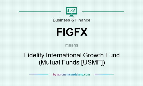 What does FIGFX mean? It stands for Fidelity International Growth Fund (Mutual Funds [USMF])