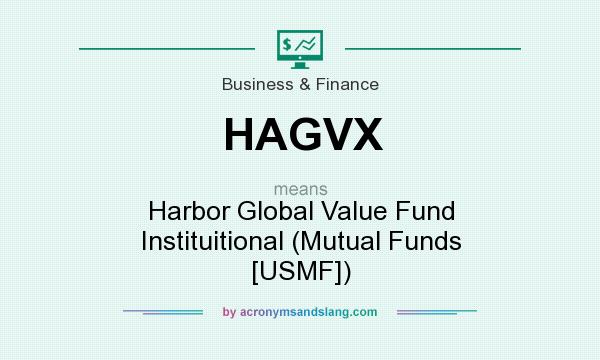 What does HAGVX mean? It stands for Harbor Global Value Fund Instituitional (Mutual Funds [USMF])