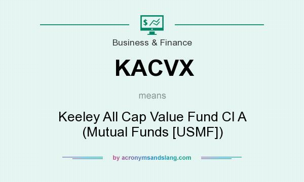 What does KACVX mean? It stands for Keeley All Cap Value Fund Cl A (Mutual Funds [USMF])