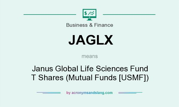 What does JAGLX mean? It stands for Janus Global Life Sciences Fund T Shares (Mutual Funds [USMF])