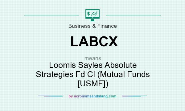 What does LABCX mean? It stands for Loomis Sayles Absolute Strategies Fd Cl (Mutual Funds [USMF])