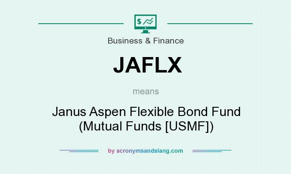 What does JAFLX mean? It stands for Janus Aspen Flexible Bond Fund (Mutual Funds [USMF])