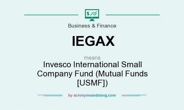 What does IEGAX mean? It stands for Invesco International Small Company Fund (Mutual Funds [USMF])