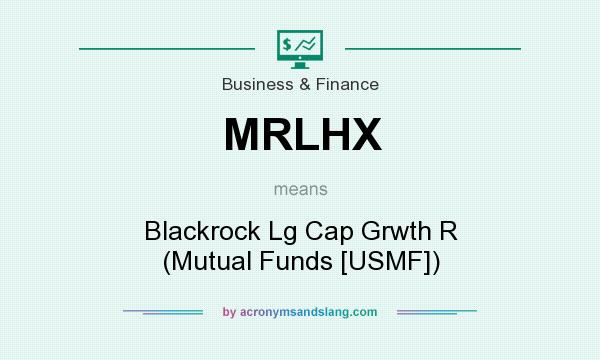 What does MRLHX mean? It stands for Blackrock Lg Cap Grwth R (Mutual Funds [USMF])