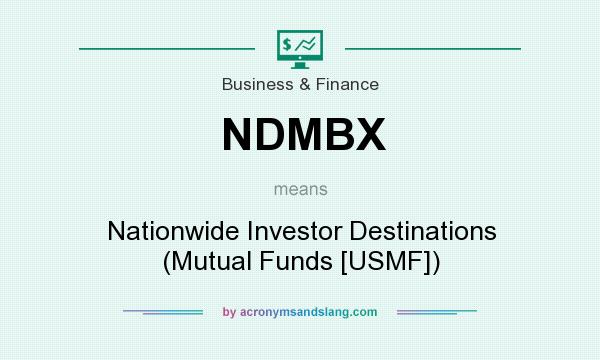 What does NDMBX mean? It stands for Nationwide Investor Destinations (Mutual Funds [USMF])