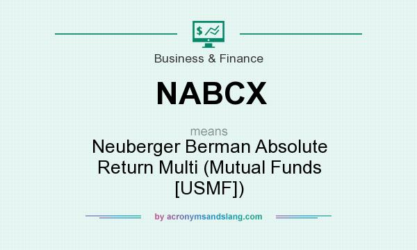 What does NABCX mean? It stands for Neuberger Berman Absolute Return Multi (Mutual Funds [USMF])
