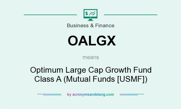 What does OALGX mean? It stands for Optimum Large Cap Growth Fund Class A (Mutual Funds [USMF])