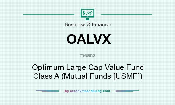 What does OALVX mean? It stands for Optimum Large Cap Value Fund Class A (Mutual Funds [USMF])
