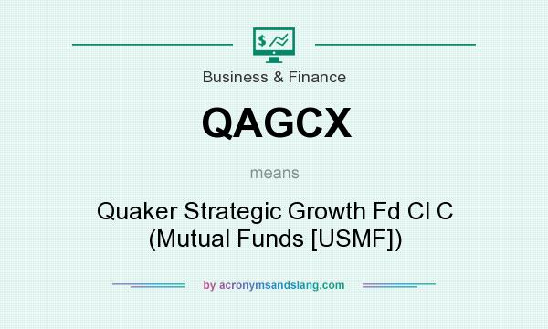 What does QAGCX mean? It stands for Quaker Strategic Growth Fd Cl C (Mutual Funds [USMF])