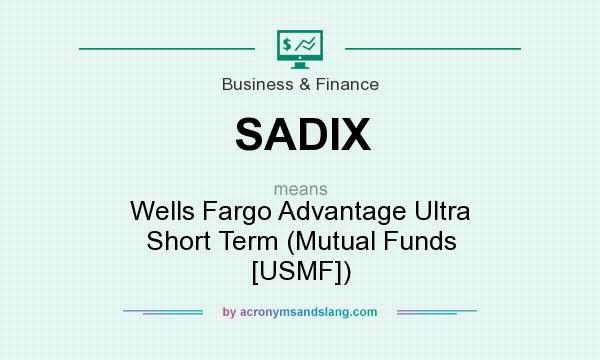 What does SADIX mean? - Definition of SADIX - SADIX stands for Wells