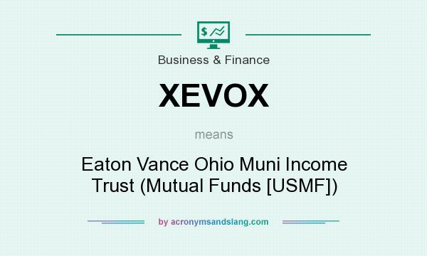 What does XEVOX mean? It stands for Eaton Vance Ohio Muni Income Trust (Mutual Funds [USMF])