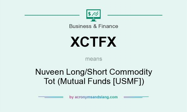 What does XCTFX mean? It stands for Nuveen Long/Short Commodity Tot (Mutual Funds [USMF])