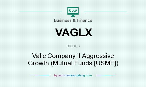 What does VAGLX mean? It stands for Valic Company II Aggressive Growth (Mutual Funds [USMF])