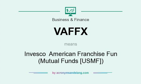 What does VAFFX mean? It stands for Invesco  American Franchise Fun (Mutual Funds [USMF])
