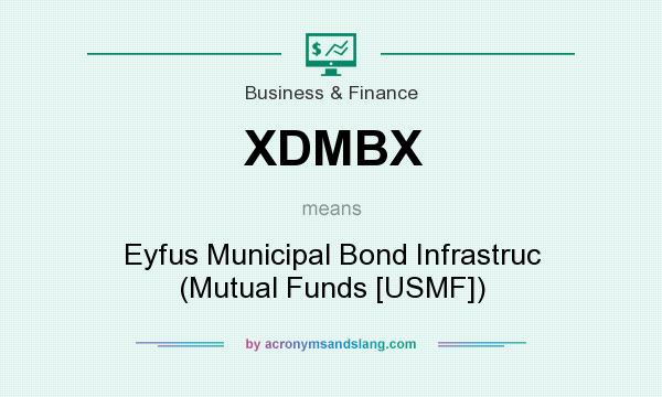 What does XDMBX mean? It stands for Eyfus Municipal Bond Infrastruc (Mutual Funds [USMF])