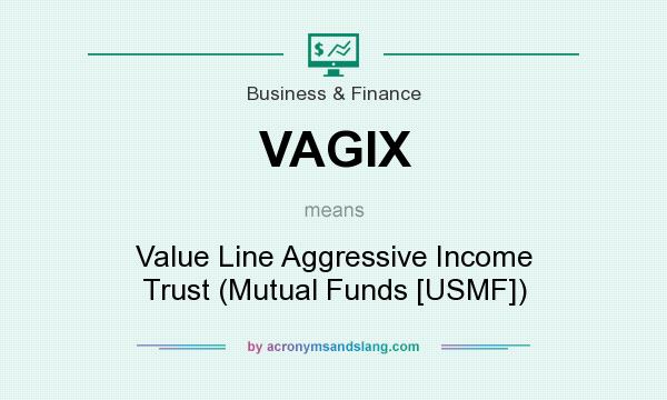 What does VAGIX mean? It stands for Value Line Aggressive Income Trust (Mutual Funds [USMF])