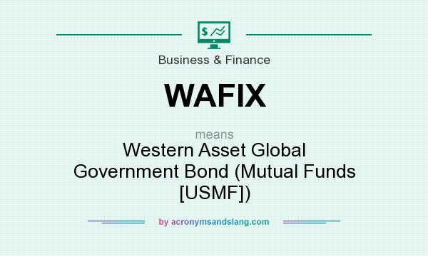 What does WAFIX mean? It stands for Western Asset Global Government Bond (Mutual Funds [USMF])