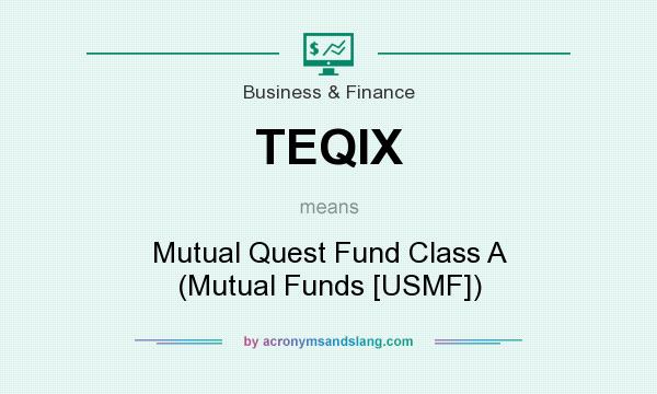 What does TEQIX mean? It stands for Mutual Quest Fund Class A (Mutual Funds [USMF])