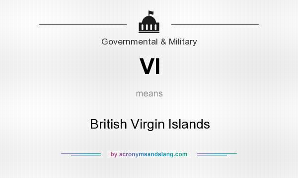 What does VI mean? It stands for British Virgin Islands