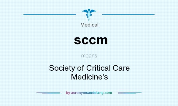 sccm - Society of Critical Care Medicine`s in Business