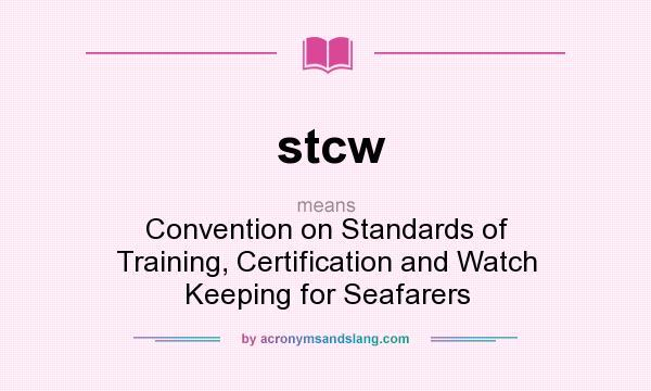 manila amendments to the stcw convention