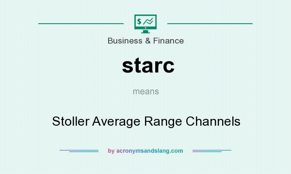 What does starc mean? It stands for Stoller Average Range Channels