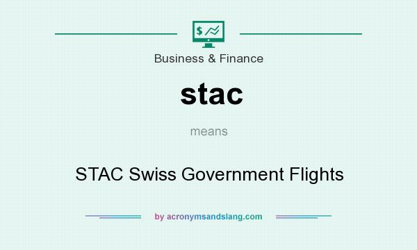 What does stac mean? It stands for STAC Swiss Government Flights