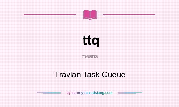 Travian task queue