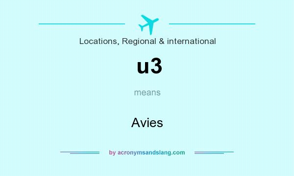 What does u3 mean? It stands for Avies