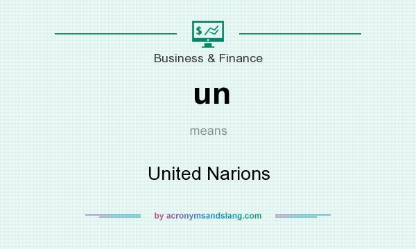 What does un mean? It stands for United Narions
