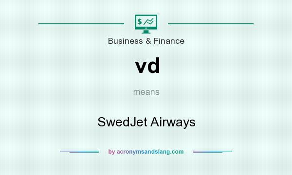 What does vd mean? It stands for SwedJet Airways