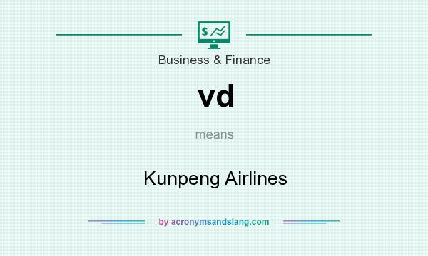 What does vd mean? It stands for Kunpeng Airlines