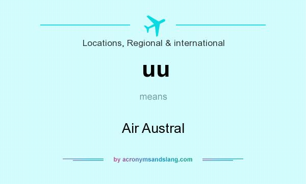 What does uu mean? It stands for Air Austral