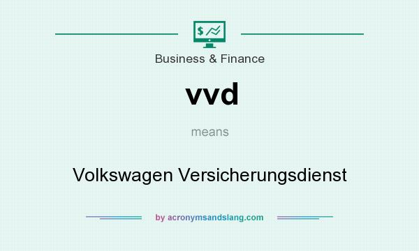 What does vvd mean? It stands for Volkswagen Versicherungsdienst