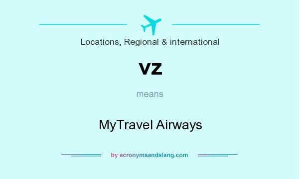 What does vz mean? It stands for MyTravel Airways