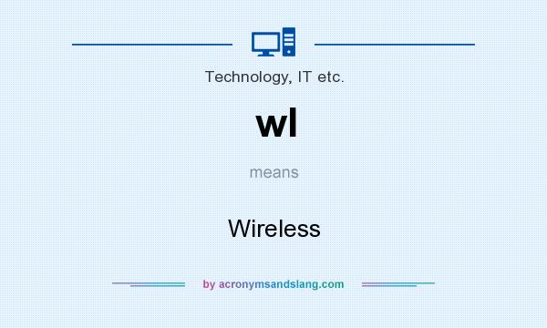 What does wl mean? It stands for Wireless