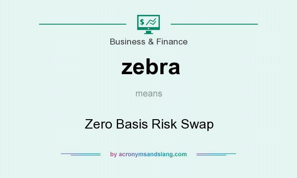What does zebra mean? It stands for Zero Basis Risk Swap