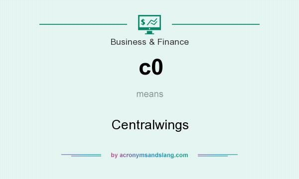 What does c0 mean? It stands for Centralwings