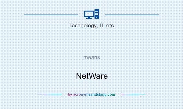 What does   mean? It stands for NetWare