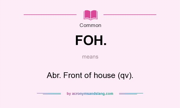 Qv abbreviation meaning