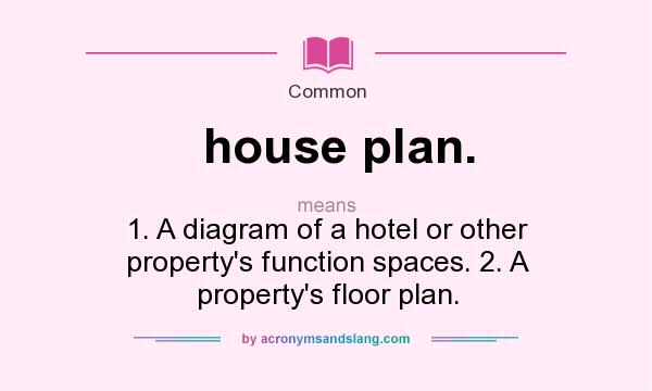 What does house plan mean definition of house plan for Floor function definition