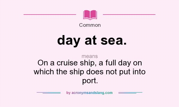 what does ship mean slang