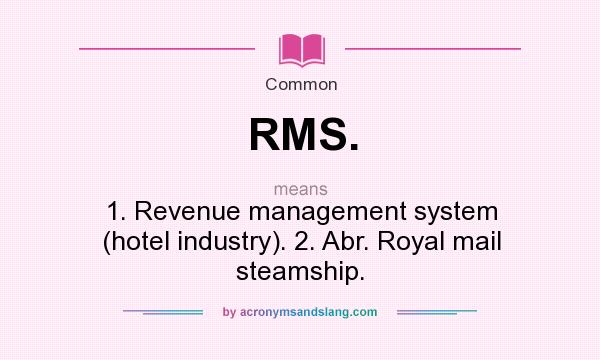 What Does Rms Mean >> What Does Rms Mean Definition Of Rms Rms Stands For 1