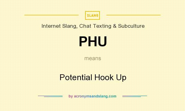 Hook up slang