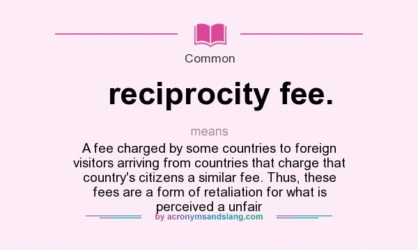 reciprocity defined Synonyms for reciprocity at thesauruscom with free online thesaurus, antonyms, and definitions dictionary and word of the day.