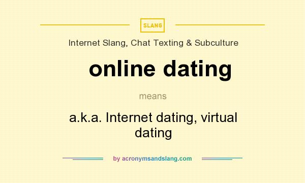 What is online dating definition